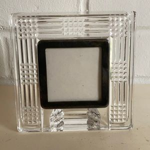 Waterford Crystal Picture Frame w/ Silver